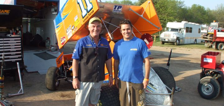 dscf3027 - peter with kerry madsen at lernerville